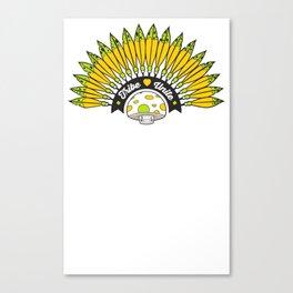 Zorb Shield Canvas Print