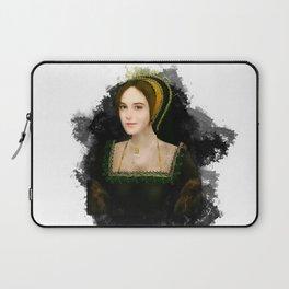 Anne Boleyn grunge artwork Laptop Sleeve