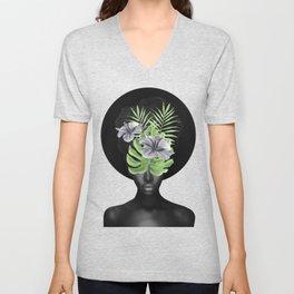 Tropical Girl Unisex V-Neck