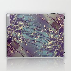 Flower Flip Laptop & iPad Skin