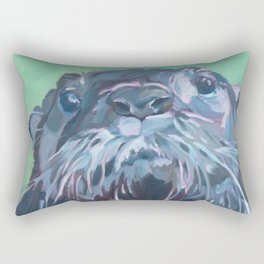 Gramm the Otter Rectangular Pillow