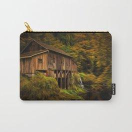 Baroque Cedar Grist Mill Carry-All Pouch