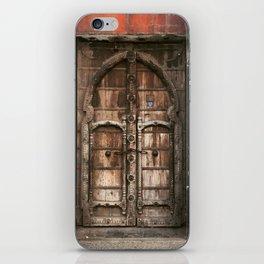 Mexico Door iPhone Skin