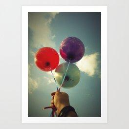 baloons Art Print