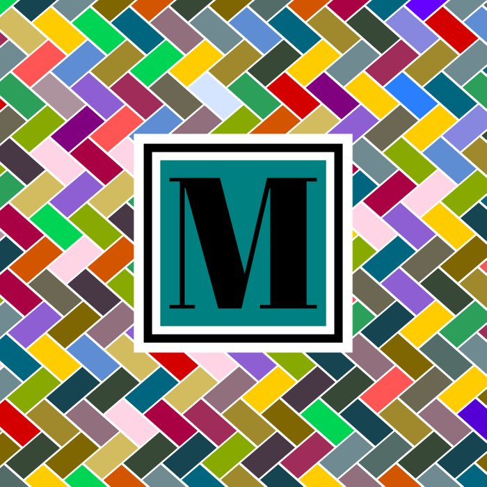 M Monogram Comforters