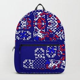 """""""Snowflakes"""" series #5 Backpack"""