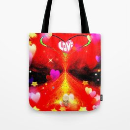 """Red Hot Love-a"" Tote Bag"