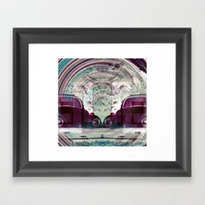 Iconic Swirl Framed Art Print