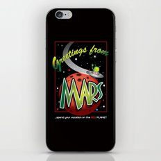 Greetings from Mars! iPhone & iPod Skin
