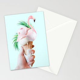 Tropical Ice Cream #society6 #decor #buyart Stationery Cards