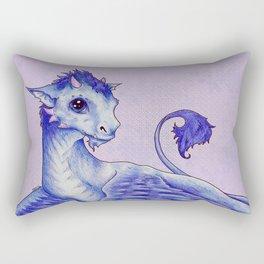 Baby Dragon Rectangular Pillow