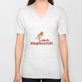 Hopscotch Unisex V-Neck