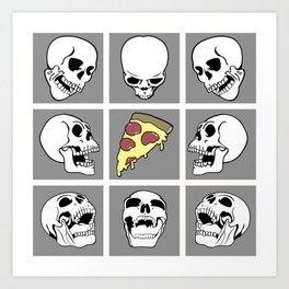 Pie til we die Art Print
