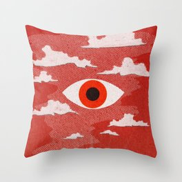 Safety Matches: Psyche Throw Pillow