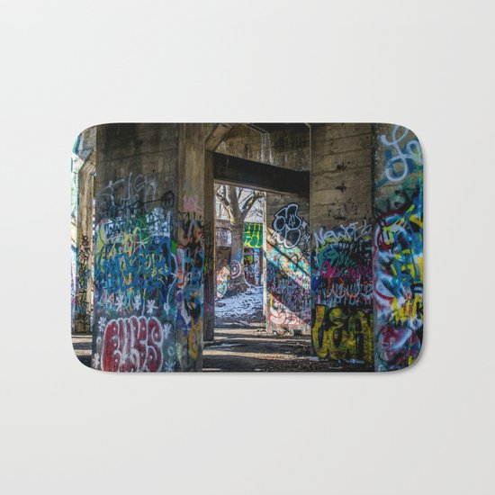 Graffiti Playground Bath Mat