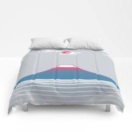 snow mountain 02 Comforters