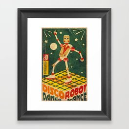 Discobot Framed Art Print