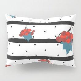 Red Rowan Pillow Sham