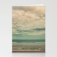 boardwalk empire Stationery Cards featuring Boardwalk by Marc Daly