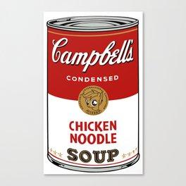 Campbell's scootaloo noodle soup Canvas Print