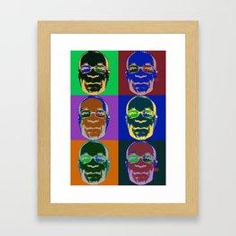 Bob vs. Warhol Framed Art Print