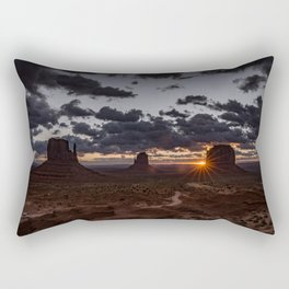 Monument Valley Rectangular Pillow