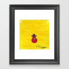 S.M. Hero 1 Framed Art Print