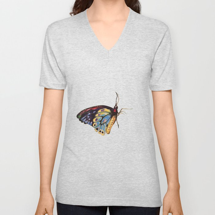 Queen Butterfly Unisex V-Neck