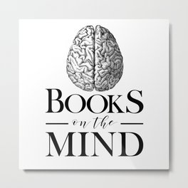 Books on the Mind Metal Print