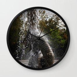 Trelleborg Seeschlangen Brunnen Wall Clock