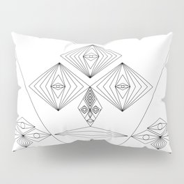 Abstract and Geomtric Faces Pillow Sham