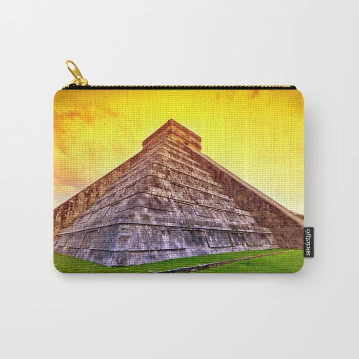 Mexican Pyramid Carry-All Pouch