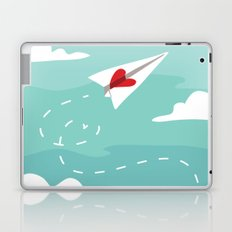 Love Letter Airplane Laptop & iPad Skin