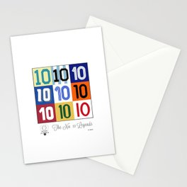 The No. 10 Legends Stationery Cards