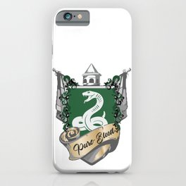 Pure-Blood iPhone Case