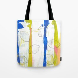 Limeade Splash Tote Bag