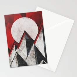 Mount kamikaze Stationery Cards