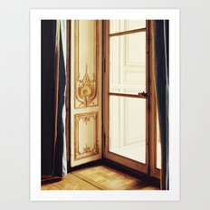 French Doors Art Print