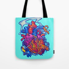 BUSTED HEART Tote Bag