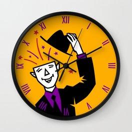 Say Hello! Wall Clock