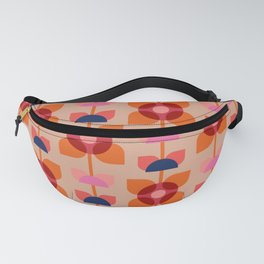 Retro floral pattern no4 Fanny Pack