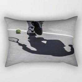 Rafa's Shadow Rectangular Pillow