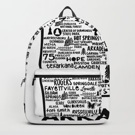 Akansas Map Backpack