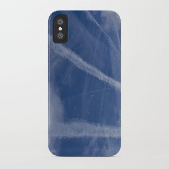Vapor Trails iPhone Case