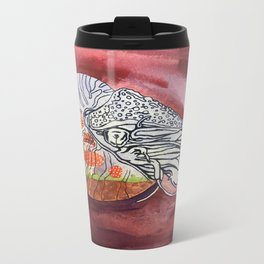 Nautilus Terrarium Metal Travel Mug
