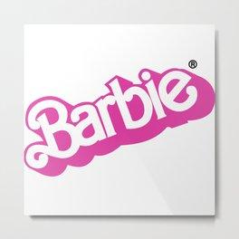 Barbie Girl Metal Print