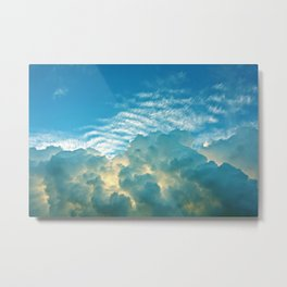 Cloud Eruption Metal Print