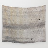 concrete Wall Tapestries featuring Concrete by Patterns and Textures
