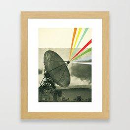 Earth Calling Framed Art Print