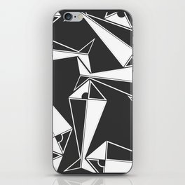 the fish family iPhone Skin